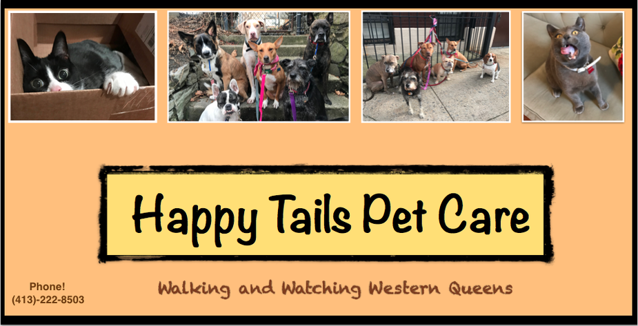 Happy Tails Pet Care: Dogwalking, Pet Sitting, and more for Western Queens